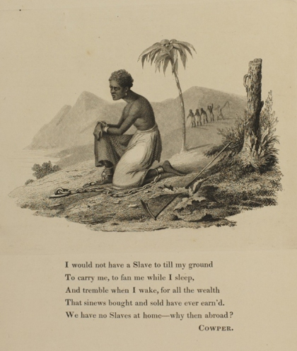 Illustration from an album containing anti-slavery tracts and pamphlets, late 1820s [Rare Books HT1163 71-082284]